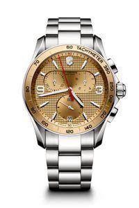 Pánske Hodinky Chrono Classic 241658  Swiss-made quartzový strojček ETA G10.211, Presnosť merania chronografu až 1/10 sekundy, tachymeter, priemer: ø 41 mm