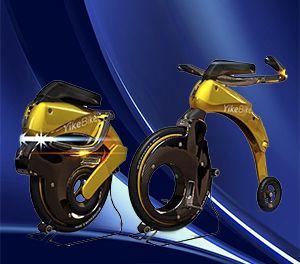 Bicicleta Elétrica Dobrável perfeita para facil alocação.