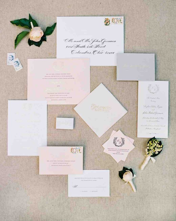 32 Dreamy Watercolor Wedding Ideas | Martha Stewart Weddings   The  Dandelion Patch Created This Subtle