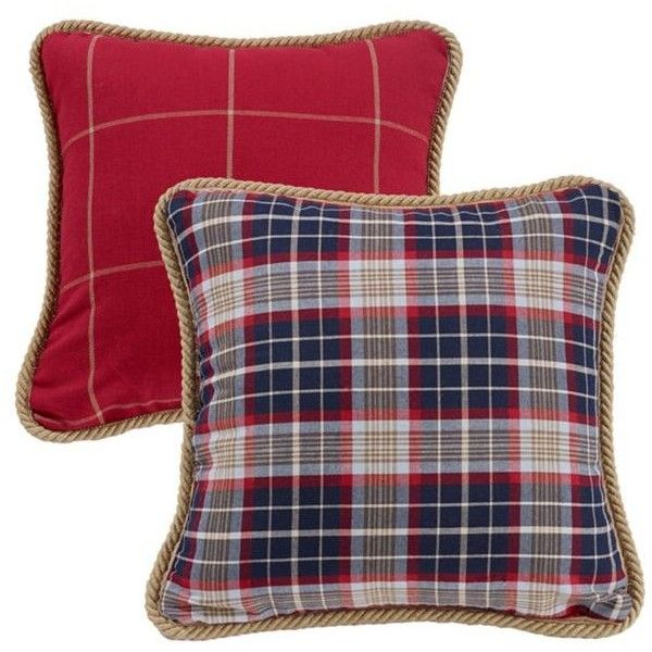 Hiend Accents Navy S Haven Rev Plaid Dec ($45) ❤ liked on Polyvore featuring home, bed & bath, bedding, navy, plaid bedding, twin bed linens, navy blue bedding, lakers bedding and tartan bedding