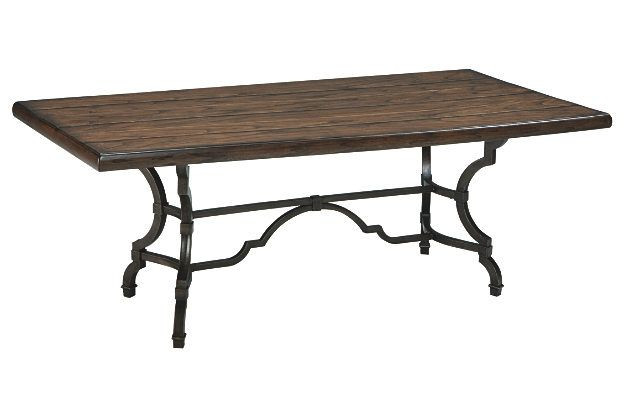 Hadelyn Dining Room Table ★★★★★ ★★★★★ 5 out of 5 stars. Read reviews.   5.0  (3) Write a review . This action will open a modal dialog. $395.00  Ashley