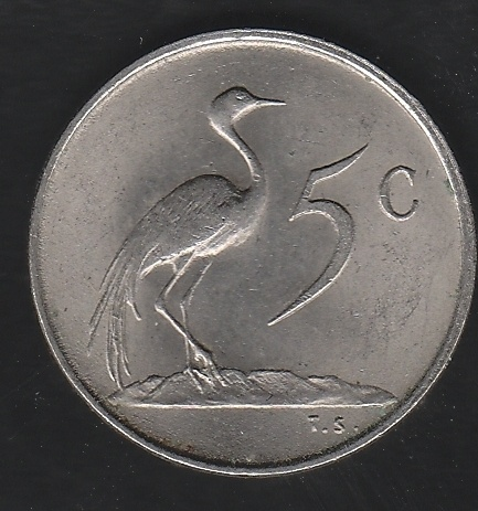 South Africa 5 Cents 1977 | eBay
