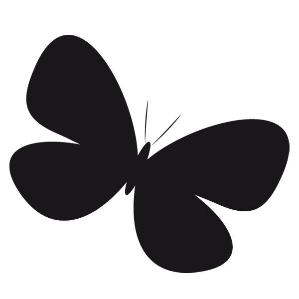 Vinilo infantil divertidas mariposas