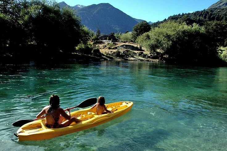 Sit-on-top Kayaking on the Espolon River | from OARs http://www.oars.com/chile