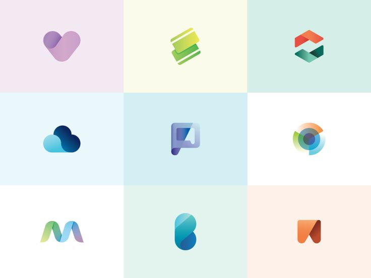 logo marks for sale. these colors are soooo pretty and relaxing!