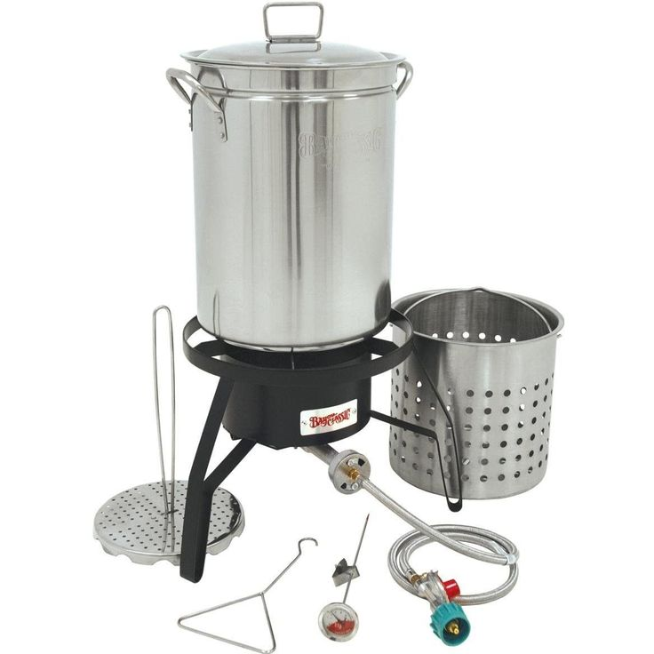 Time to cook some turkey the southern way, fried. Introducing the Bayou Classic Deep Fat Turkey Fryer Kit Turkey Fryer - Stainless Steel - 32 qt. , featured in our Other Patio_and_Grilling department.
