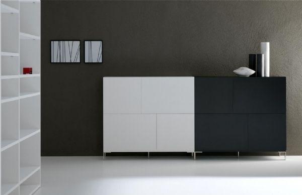 Las 25 mejores ideas sobre muebles laqueados en pinterest for Muebles modulares living
