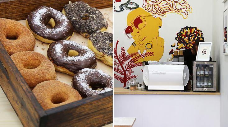 Art. Coffee. Doughnuts. Enough said.