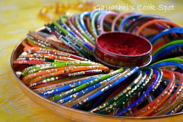 Seemantham google search baby shower ideas pinterest Home decoration with bangles