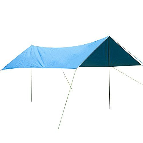 UNIQUEBELLA Shade sails waterproof, Camping Shelter outdoor, An-ti UV, Garden shade canopy Rectangle