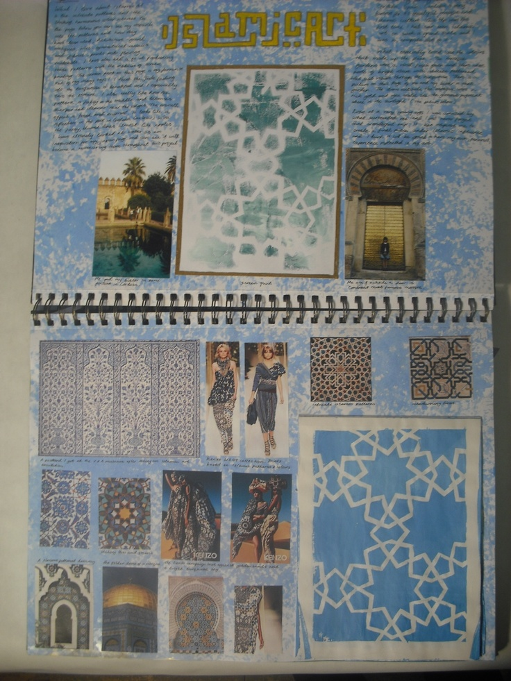 Beautiful sketchbook page by Izzy Bucklow. Multiple references and own work make this a really exciting page.