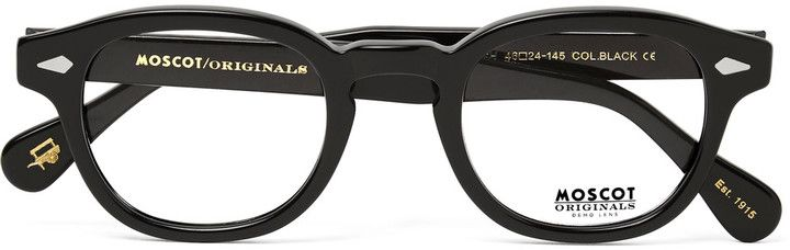 Moscot Lemtosh Round-Frame Acetate Optical Glasses