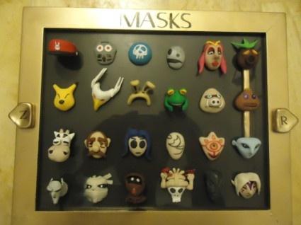 Majora S Mask Masks Would Be Cool Wall Art As Real Masks