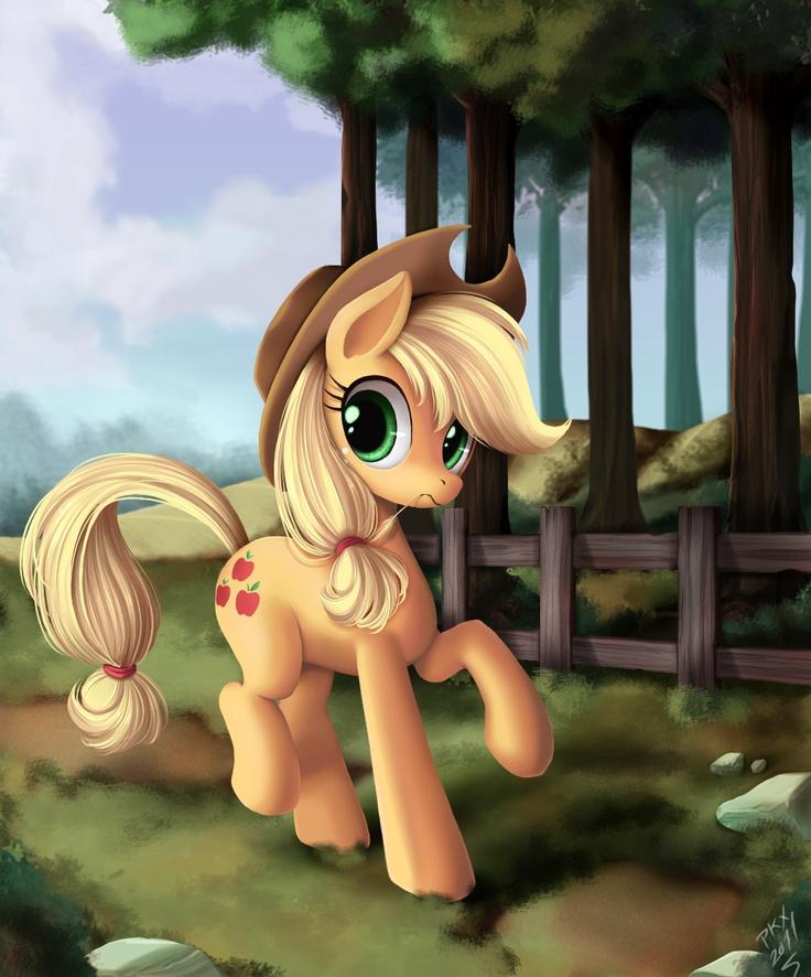 Apple Jack #Hasbro #MLP #FiM My little pony friendship is magic
