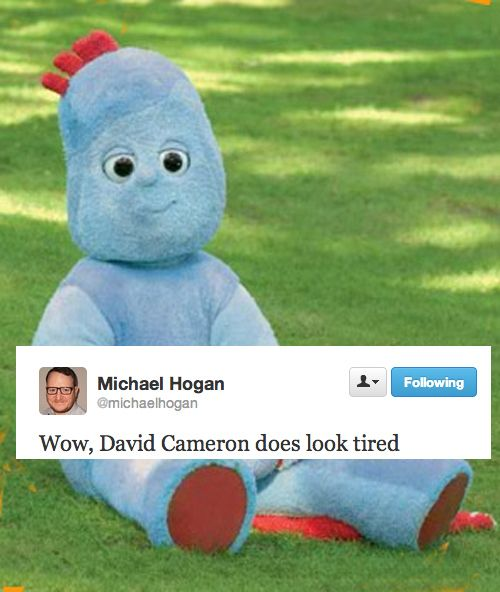 The Funniest Responses To David Cameron's Conservative Party Conference Speech