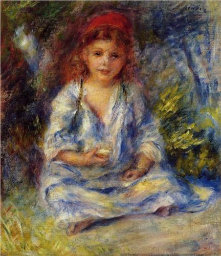 The Little Algerian Girl - Pierre-Auguste Renoir