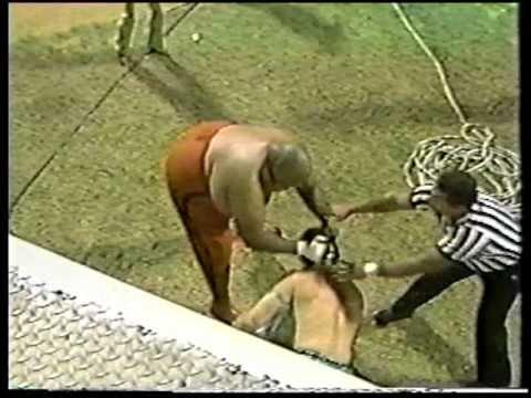 WWC: Abdullah The Butcher vs. Al Perez (Wild Brawl)