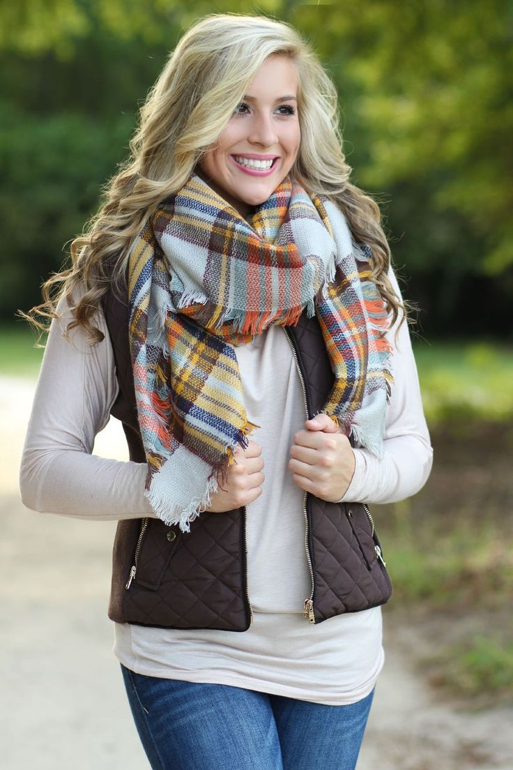 Lavish Boutique  - Fall Is Calling Vest: Brown, $38.99 (http://lavishboutique.com/fall-is-calling-vest-brown/)