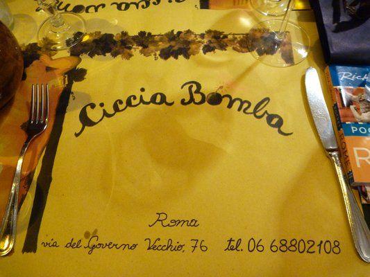 Ciccia Bomba - near Piazza Navona