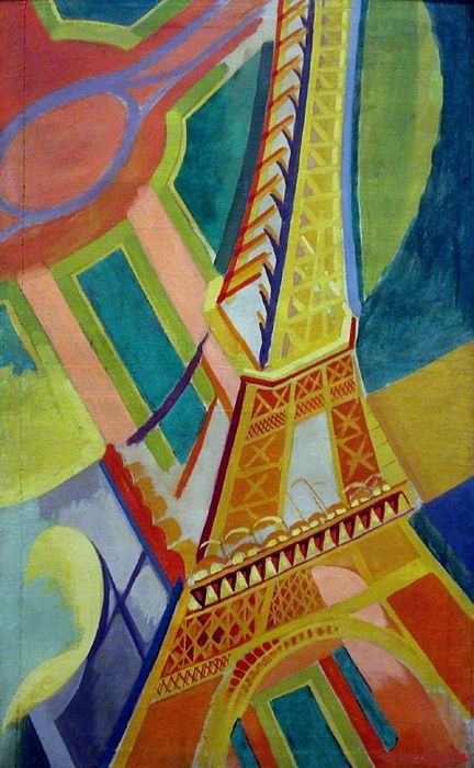 Robert Delaunay, Tour Eiffel,