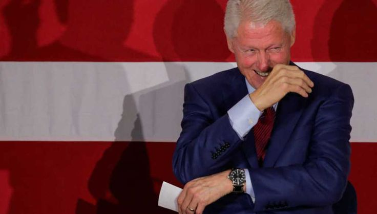 Bill Clinton White House Staff Feared Bending Over