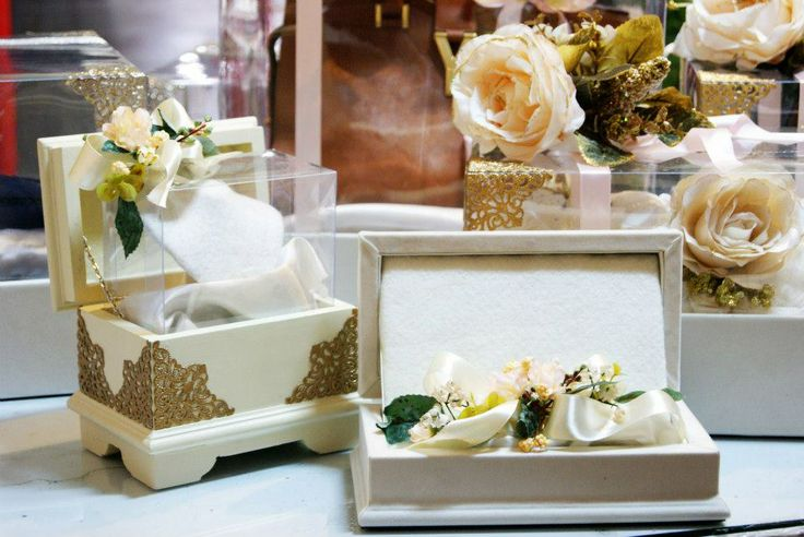 Ivory Jewelery & Mahar wooden  Boxes #wedding #gift #tradition