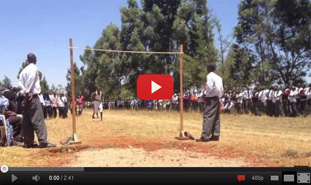 Kenyan High School High Jump – These Boys Are So Good