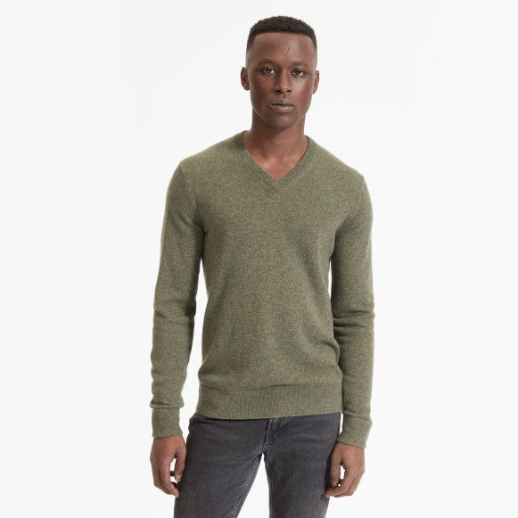 The Cashmere V Neck Everlane | Mens cashmere, Raglan