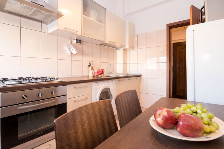 Have breakfast in your homey apartment, while in Bucharest! #travel #bucharest