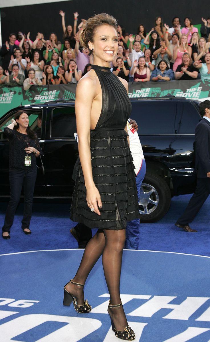 Jessica Alba  In Pantyhose-7373