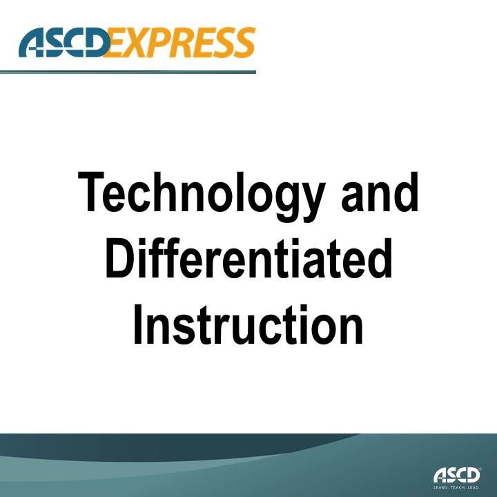 resources for differentiated instruction Mr shelton learns that differentiated instruction is an approach whereby teachers adjust their curriculum and instruction to maximize the learning of all students: average learners, english language learners, struggling students, students with builds resources and options into the curriculum.