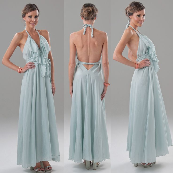Dress like Lisa Brown Silk Habitue Poppy V-Frill dress