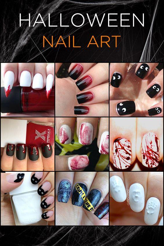 Halloween Nail Art Trends