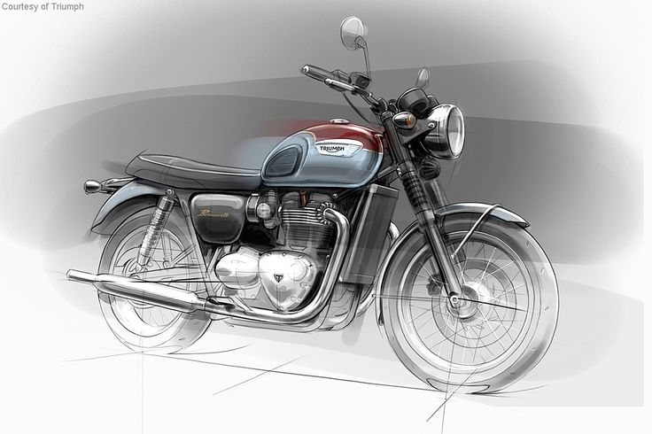 2016 Triumph Bonneville Line Revealed Photos - Motorcycle USA