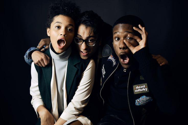 Sundance Film Festival The stars of Dope: Kiersey Clemons, Tony Revolori and Shameik Moore