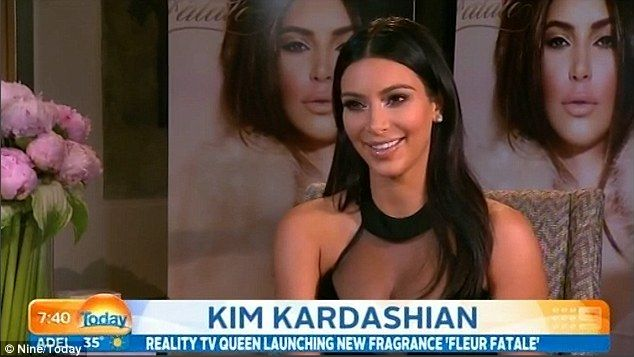 Tell-all!'I had a really bad pregnancy and I gained a lot of weight and I did not feel good about myself,' Kim said