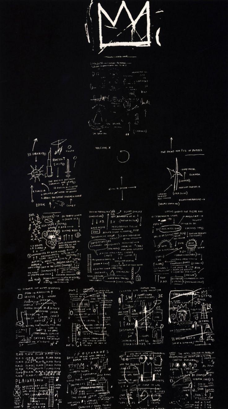 Tuxedo  - Jean-Michel Basquiat// Exquisite! Love Basquiat...such a genius gone from us too soon -kws