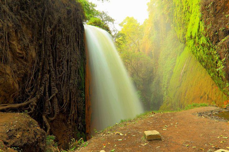 Blawan waterfall by Kun Riyanto on 500px