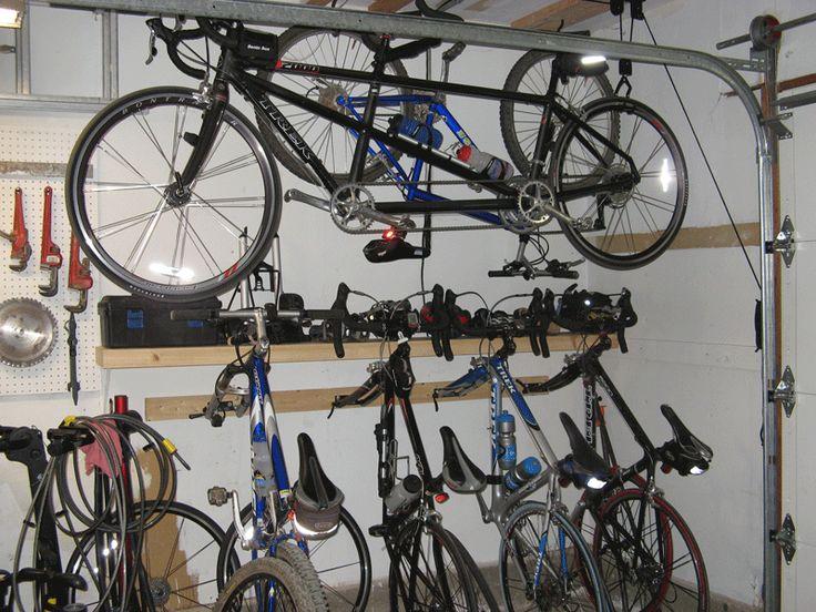 Sensational Creative Bike Storage Designs Various Bicycle
