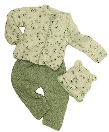 Knitting Patterns Galore - Granny Smith Sweater, Pants and Hat