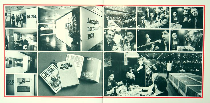 "1978 ""CUCINA IN CUCINA"": an innovative recipe book, made in a real social way."