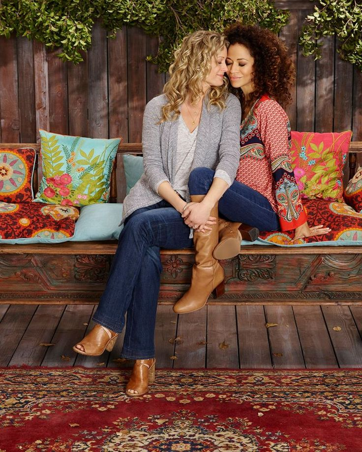 Teri Polo as (Stef) and Sherri Saum as (Lena) #TheFosters