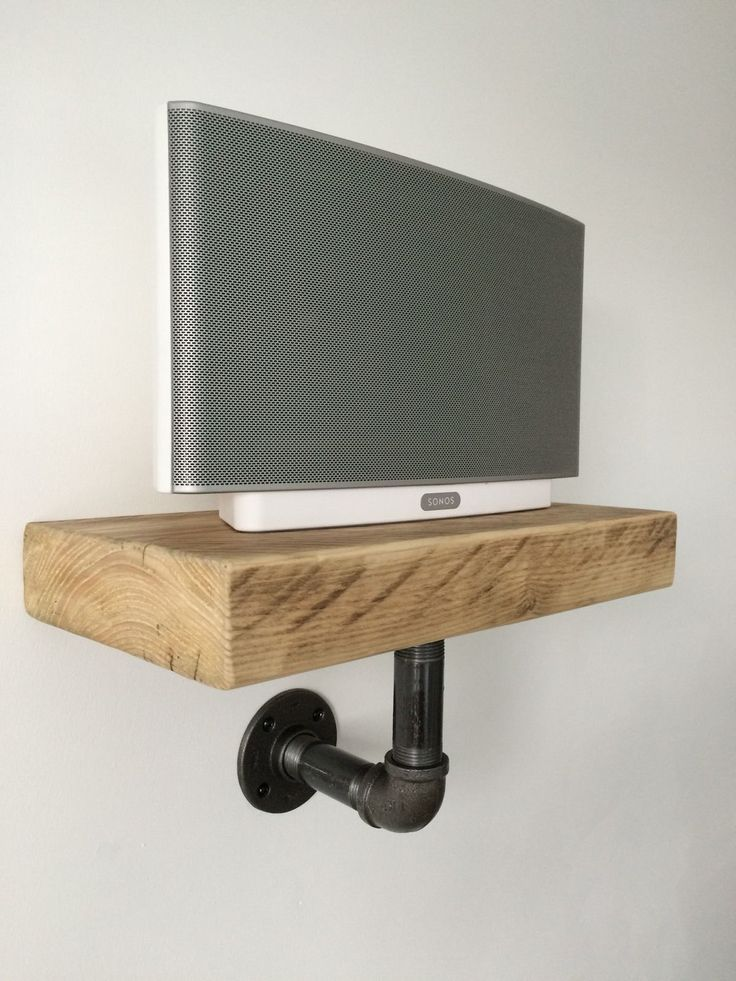 Sonos Play5 Shelf Handcrafted Industrial/modern/rustic in Sound & Vision, Home Audio & HiFi Separates, Speakers & Subwoofers | eBay