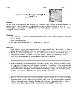 17 Best ideas about Dna Fingerprinting on Pinterest | Dna lab, Dna ...