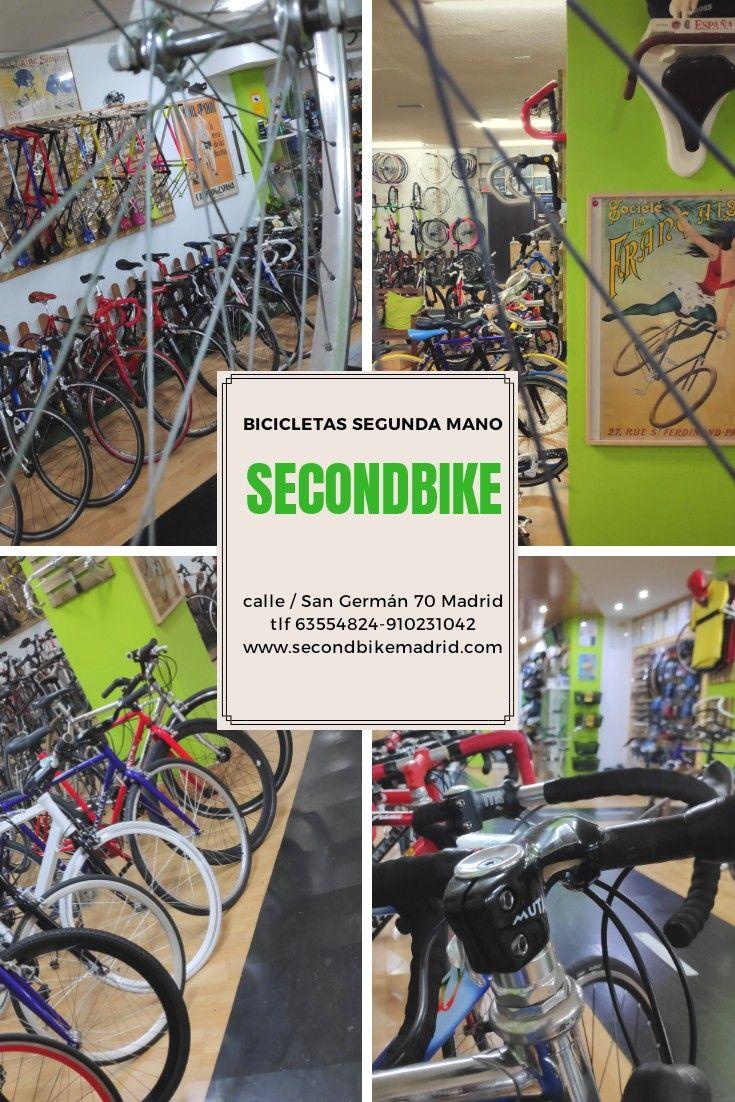 La Mayor Tienda De Bicicletas De Segunda Mano En Madrid Con