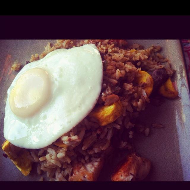 Colombian Food: Calentao'