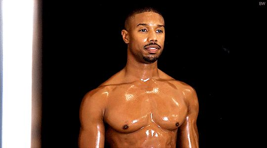 Someone on the Internet created these masterful GIFs of the hottest man on Earth, Michael B. Jordan, blessing humankind everywhere.