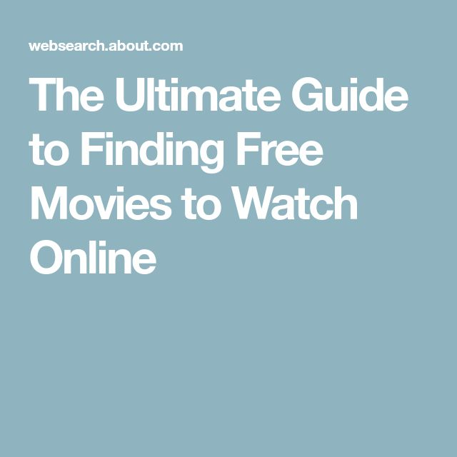 The Ultimate Guide to Finding Free Movies to Watch Online