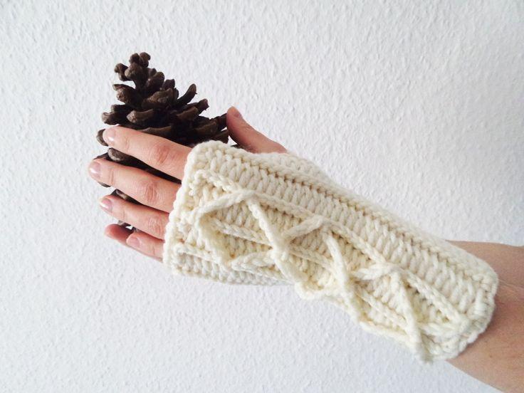 crochet mittens, tutorial Szkoła Szydełkowania, szydełkowe mitenki, crochet mittens, tutorial, szydełkowanie