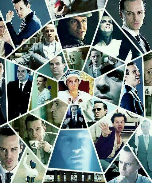 Moriarty in his criminal web. In the end, he is king, and he knows it. He controls all.